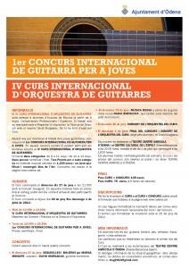 1r CONCURS i IV CURS INTERNACIONAL-INFO